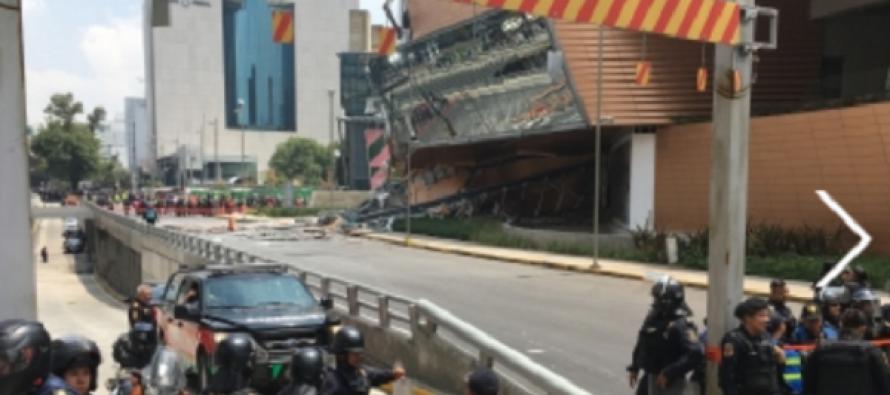 Reforzarán peritajes por derrumbe en plaza Artz Pedregal