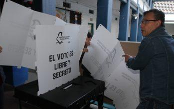 Inicia en 25 entidades del país cierre de casillas electorales