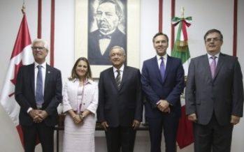 Comercio, migración y desarrollo, temas de Obrador-Freeland
