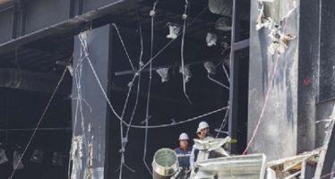 Por derrumbe en Plaza Artz vecinos del Pedregal expresan descontento