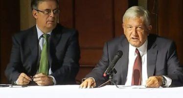 López Obrador designa a Marcelo Ebrard como próximo canciller