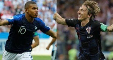 En final inédita, Francia y Croacia definirán al campeón de Rusia 2018