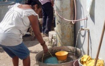 Este jueves quedaría restablecido el suministro de agua en la capital