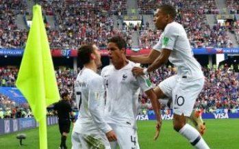 Francia califica a semifinales en Rusia 2018