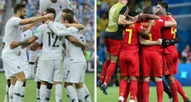 Francia y Bélgica definen al primer finalista en Mundial Rusia 2018
