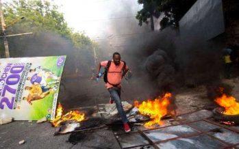 Tras violentas protestas Haití suspende alza de combustibles