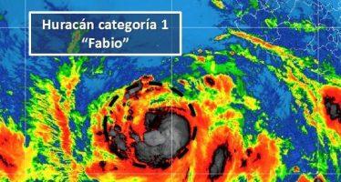 Tormenta tropical Fabio se localiza al suroeste de las costas de Jalisco