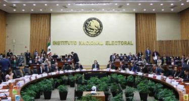 INE sanciona por 236 millones de pesos a tres partidos