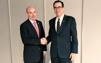 Secretario de Hacienda conversa con homólogos de EUA y Canadá