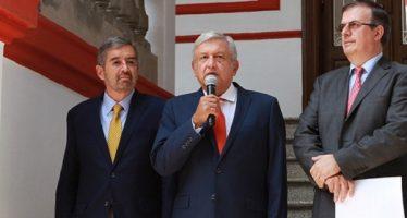 AMLO propone a De la Fuente como embajador ante la ONU