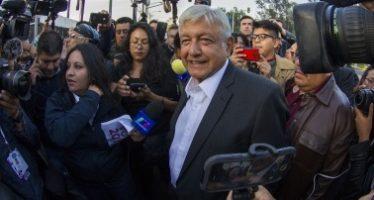 López Obrador ejerció su derecho al voto