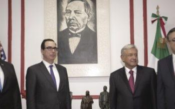 AMLO entregó a Pompeo propuesta para agenda bilateral con EUA