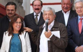 López Obrador propone a Bartlett en CFE y a Octavio Romero en Pemex