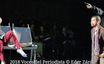 """La bala"", obra ganadora del Premio Nacional de Dramaturgia Joven Gerardo Mancebo del Castillo 2017, se está presentando en el Foro La Gruta"