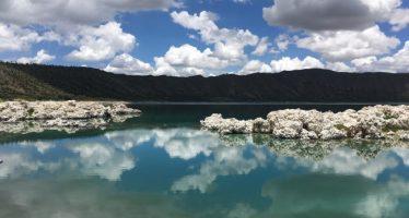 Laguna de Alchichica, un pequeño mar en el estado de Puebla