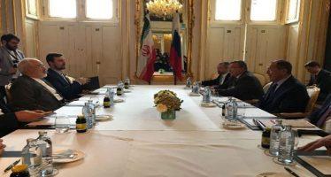 Lavrov examina situación en Siria y acuerdo con Irán
