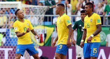 Brasil se mete a cuartos tras una contundente victoria