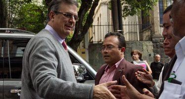 Confirma Ebrard reunión entre López Obrador y Pompeo