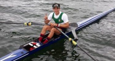 Mexicano Alexis López gana oro en remo individual