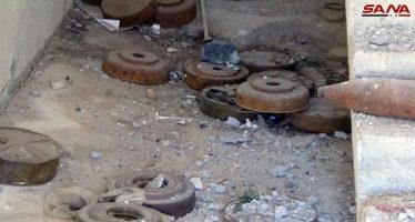 Encuentran minas antitanque y proyectiles, en sede de Cascos Blancos en Siria