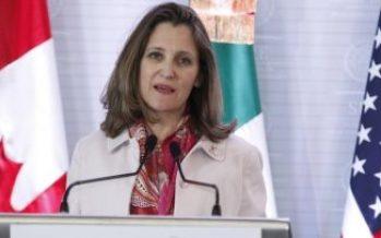 Ministros canadienses visitarán a México, hablarán de TLCAN