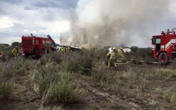 Se accidenta avión de Aeroméxico que cubría ruta Durango-México