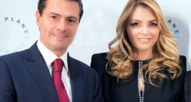 Angélica Rivera felicita al presidente EPN por su cumpleaños