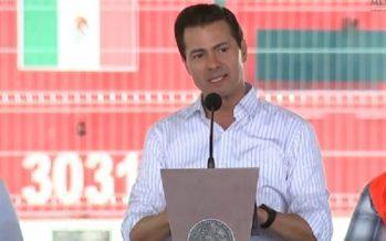 Gobierno seguirá trabajando para cumplirle a los mexicanos: EPN