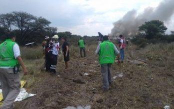 Personal de Protección Civil nacional va a Durango por accidente aéreo