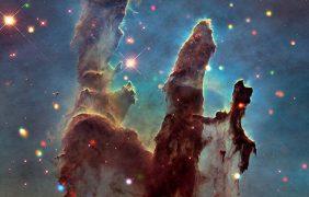 La 'fábrica de estrellas' fotografiada por la NASA