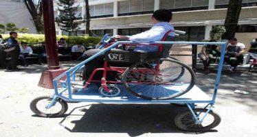 IPN crea vehículo autónomo para personas con discapacidad