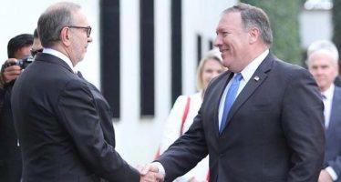 Pompeo agradece bienvenida de Peña Nieto a la Ciudad de México