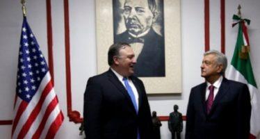 Funcionarios de EUA concluyen reunión con López Obrador