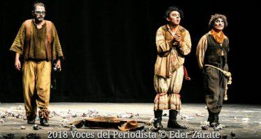 """La obra """"Por jodidos y hocicones mataron a los actores"""" inauguró anoche la Muestra de Teatro de la Ciudad de México 2018"""