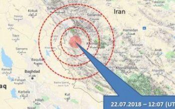 Reportan dos sismos de mediana intensidad en el sur de Irán