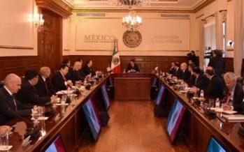 Finaliza reunión entre Peña Nieto y funcionarios de Estados Unidos