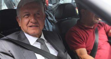 Sale Andrés Manuel López Obrador de Palacio Nacional