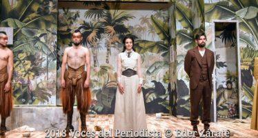 """Estrena con éxito """"Señorita Julia"""" anoche en el Teatro Milán"""