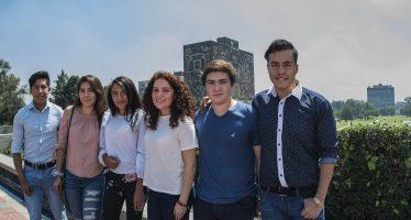"""Conoce a seis de los """"11 perfectos"""" que ingresarán a la UNAM"""