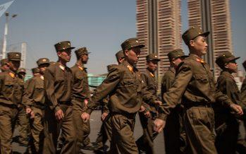 Corea del Norte reduce sus maniobras militares