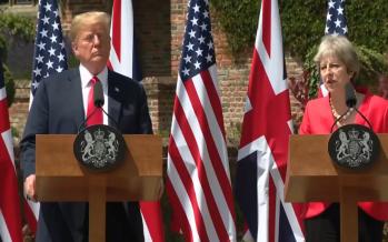 Donald Trump baja tensión con Reino Unido