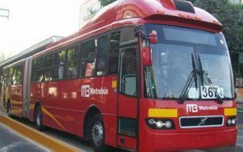 Metrobús suspenderá servicio en 10 estaciones por cierre