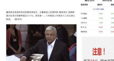 Victoria de López Obrador entre principales noticias de Asia Pacífico