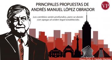 Principales propuestas de Andrés Manuel López Obrador