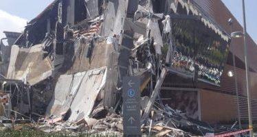 Servicios de emergencia atienden derrumbe en zona del Pedregal