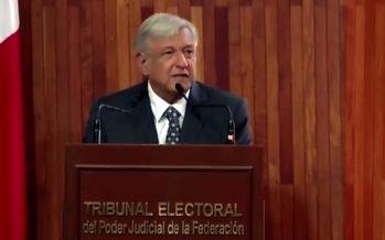 Ninguna tentación desviará mi camino en la búsqueda del humanismo: López Obrador