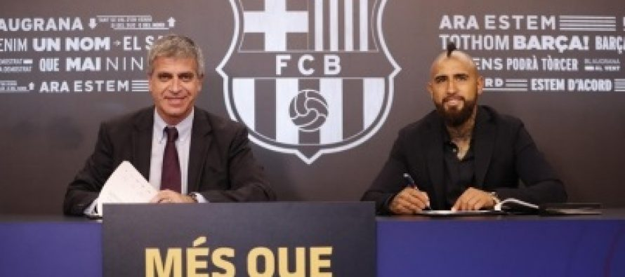 Arturo Vidal se dice feliz por estar en el mejor equipo del mundo