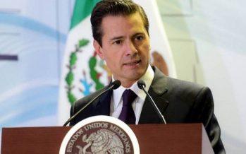 Asegura Peña Nieto que su gobierno ha sido respetuoso y democrático