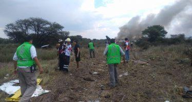 Comienza remoción de restos de avión de Aeroméxico, en aeropuerto de Durango