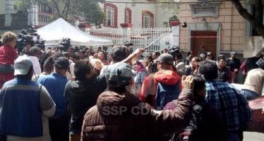 Cerrada la circulación en calle Chihuahua e Insurgentes